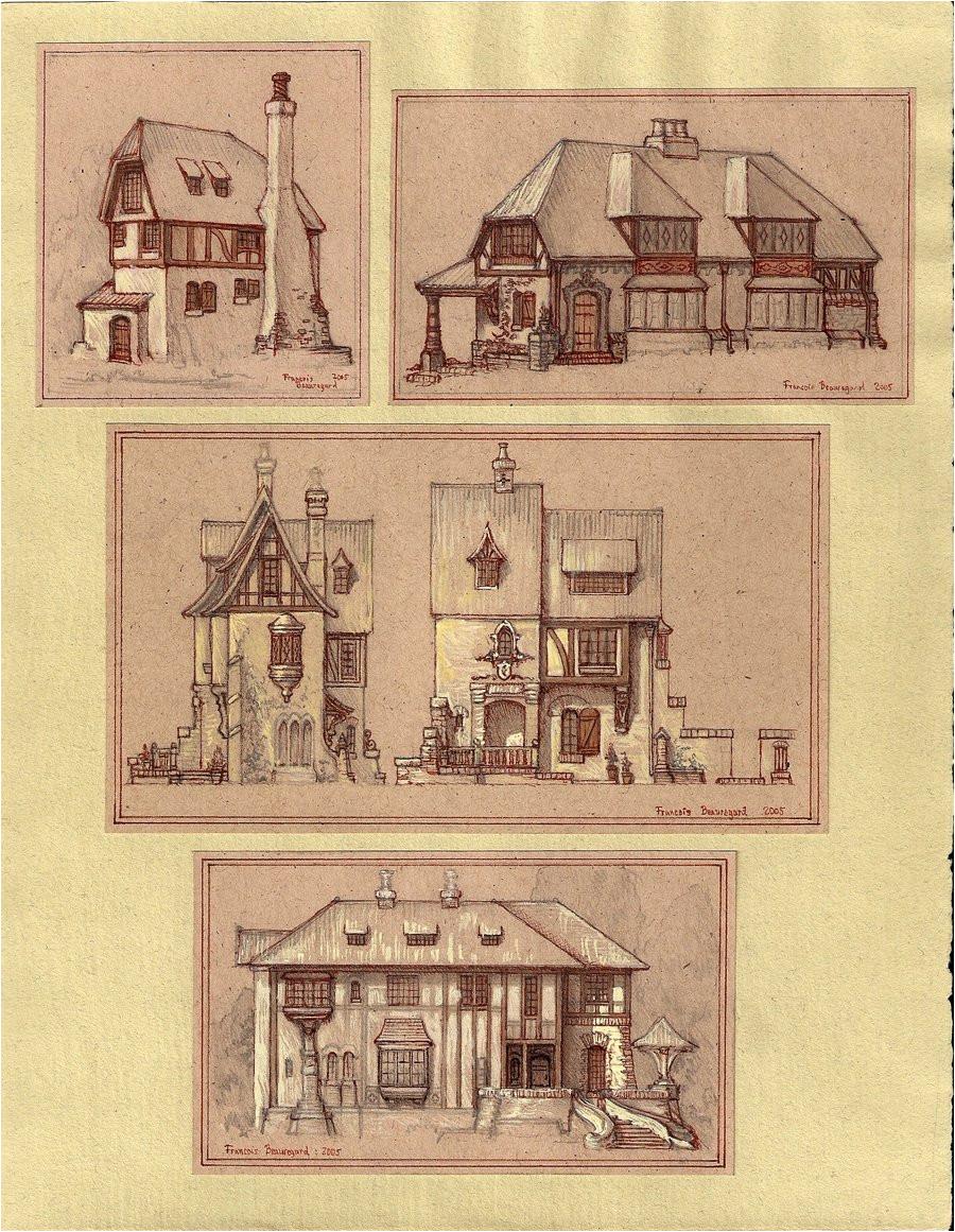 medieval houses 186286241
