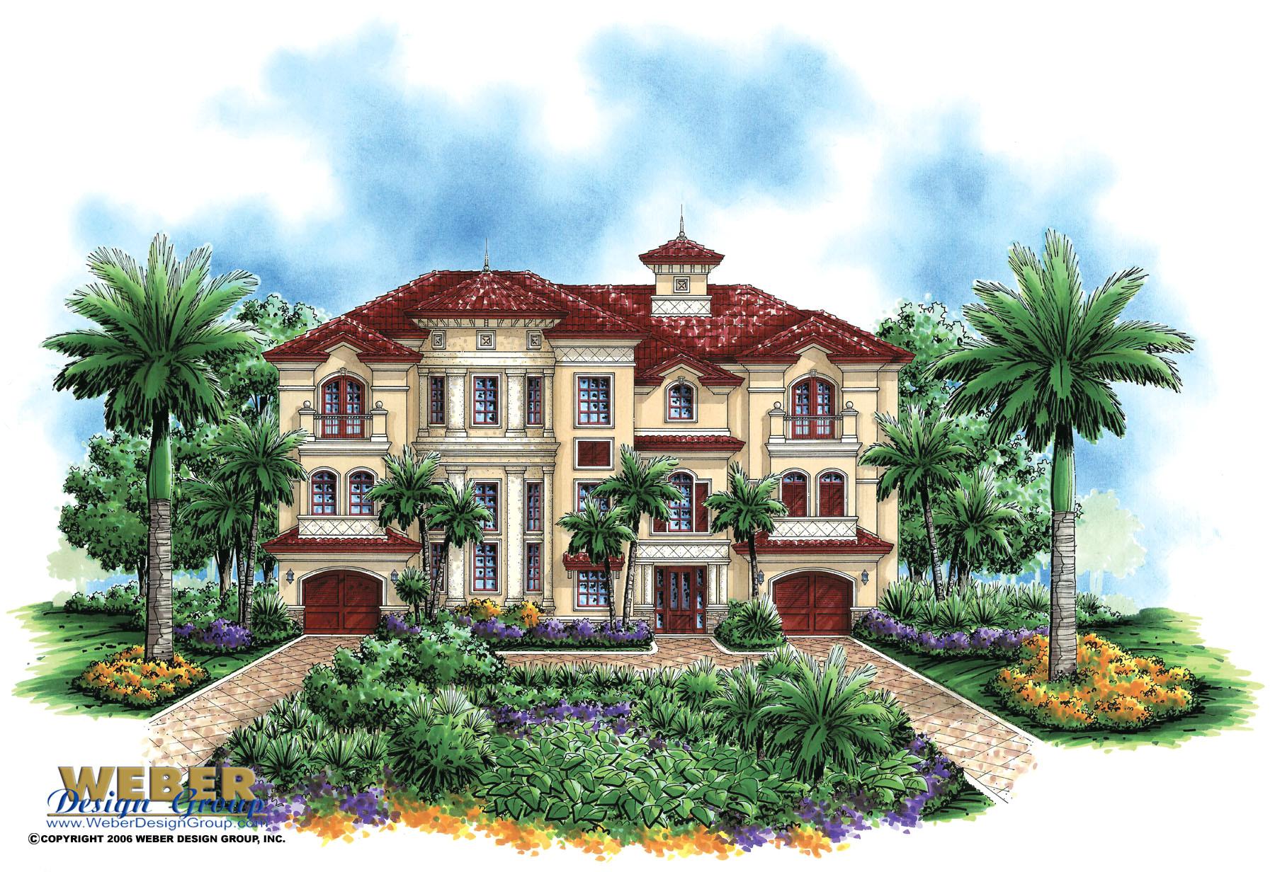 Mediterranean Home Plans Luxury Mediterranean House Plan Castello Dal Mar House