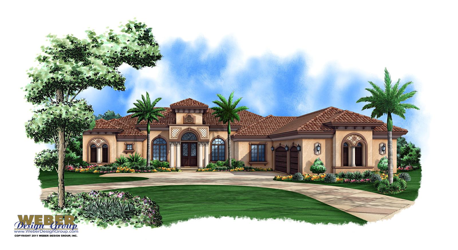 provence house plan