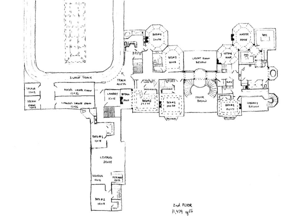 floor plans to james mega mansion design