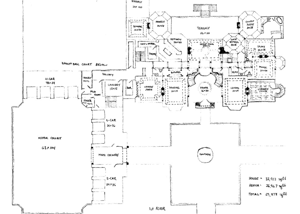 Mega Homes Floor Plans Floor Plans to James Mega Mansion Design Homes Of the Rich