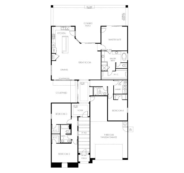 Meritage Homes Sierra Floor Plan 86 Best Drawings Images On Pinterest Architecture