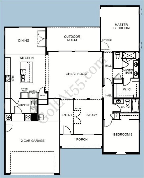 Meritage Homes Sierra Floor Plan Province Maricopa Az Floor Plans Models Golfat55 Com