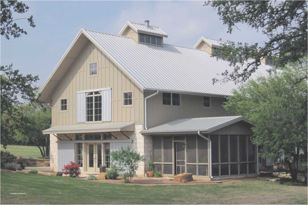 metal barn style homes