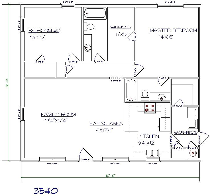 30x50 barndominium plans
