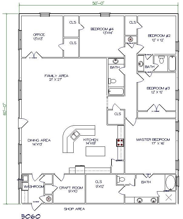 barndominium floor plans