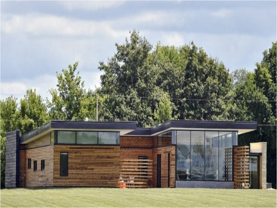 wood mid century modern ranch house plans