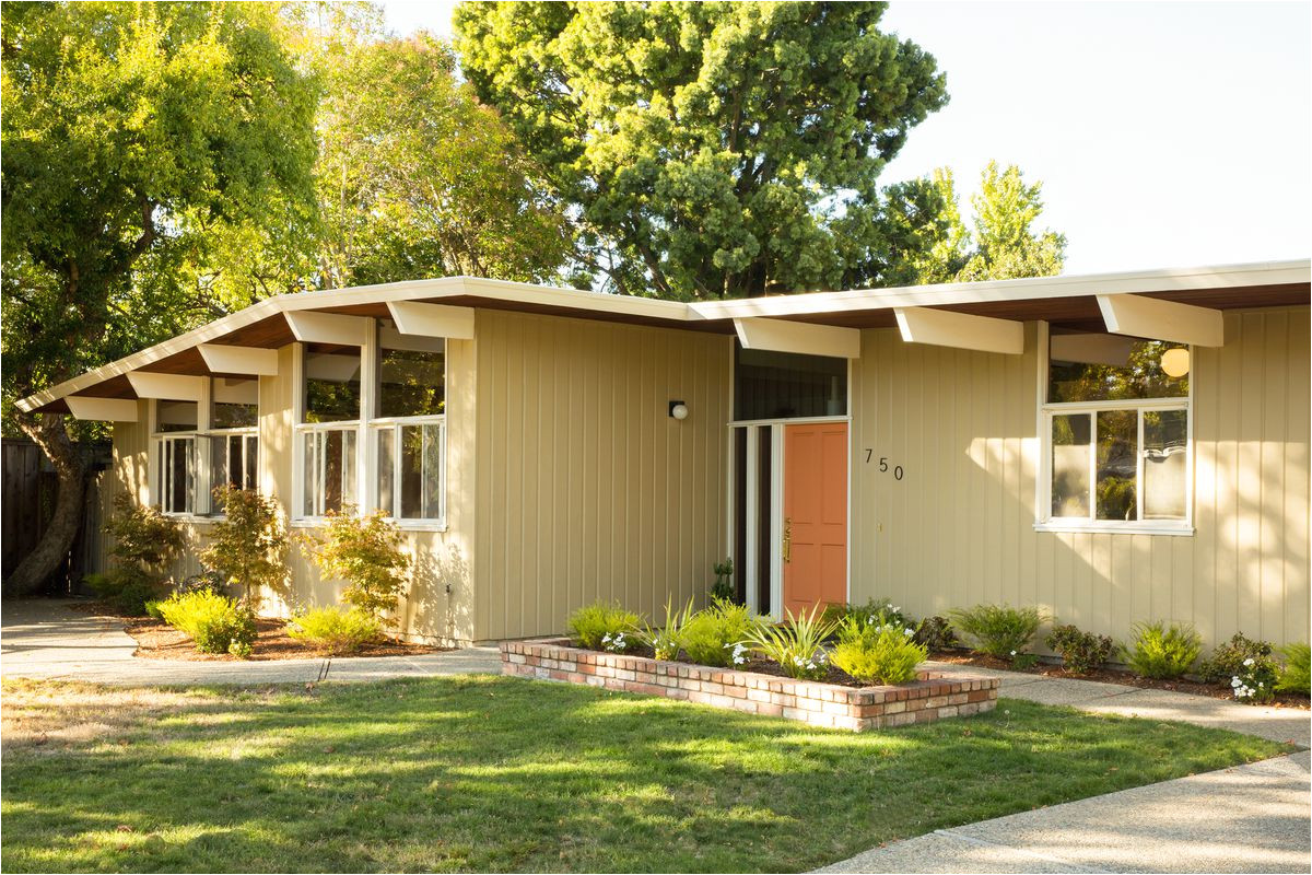 mid century modern homes plans small