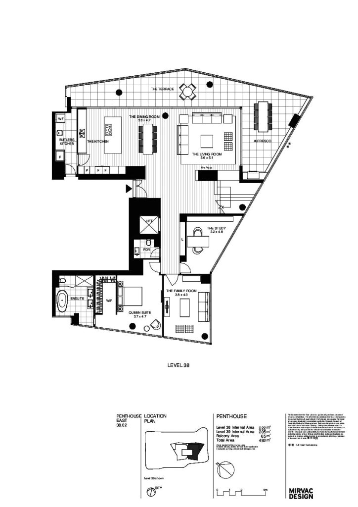 array penthouse mirvac design