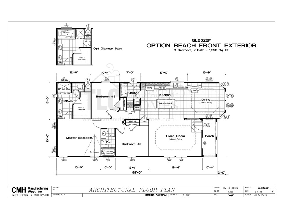 mobile home floor plans fl