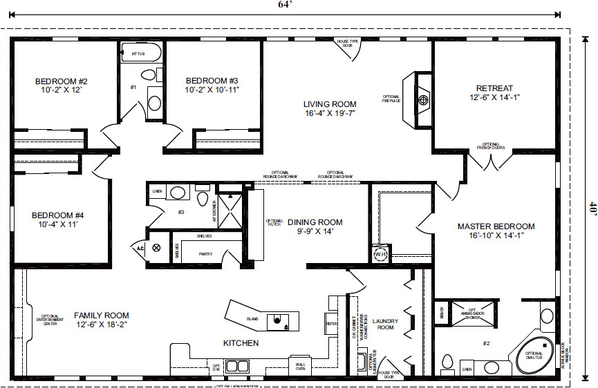 Mobile Home Floor Plans Florida Modular Homes Florida Floor Plans House Design Plans