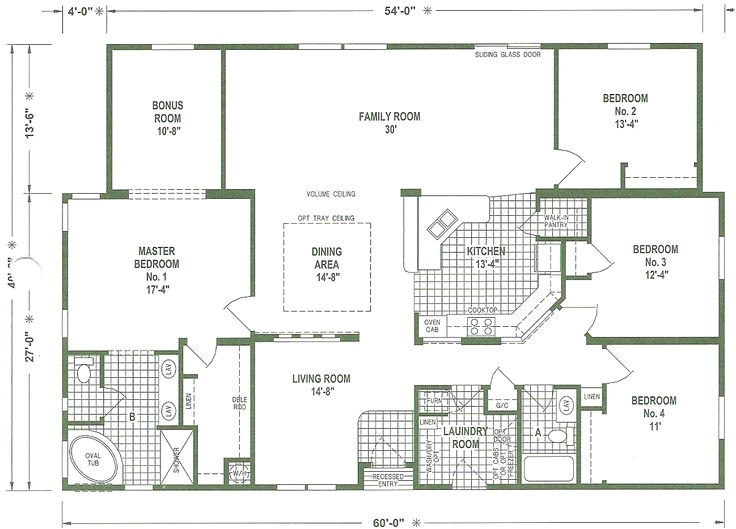 double wide mobile home floor plans georgia