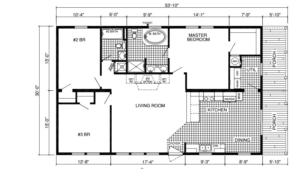 floor plan layout deervalley amethyst 104665