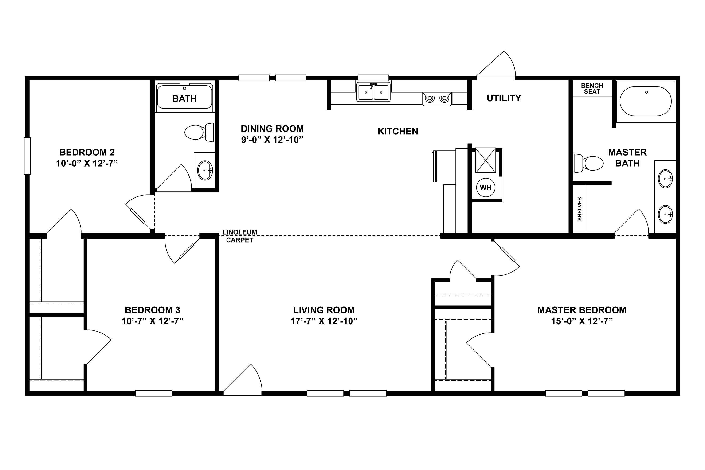 tiny mobile home floor plans