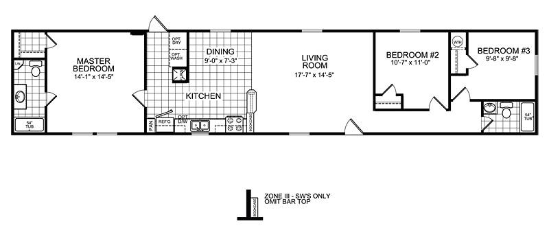 oakwood mobile home floor plans