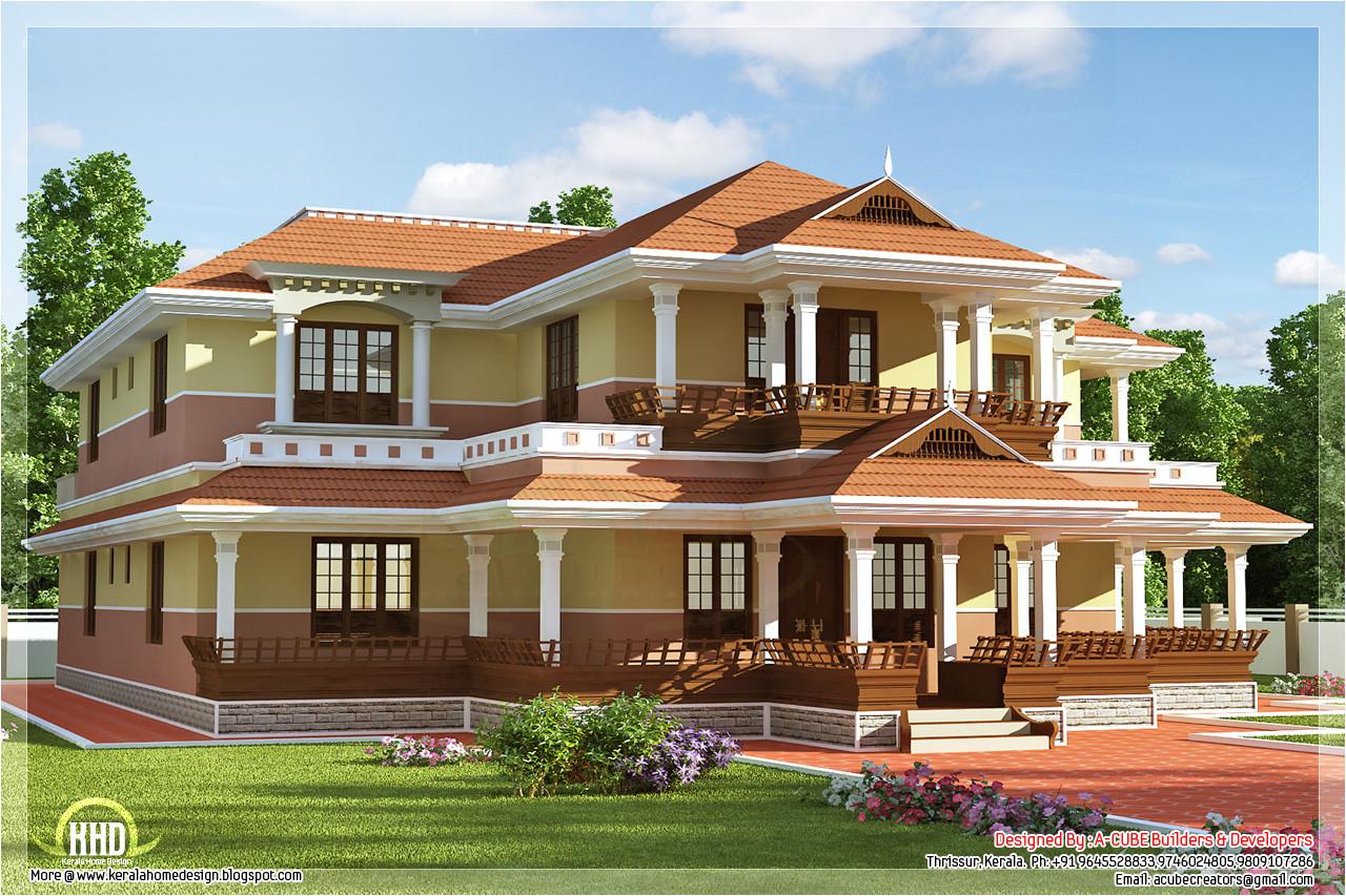 kerala model luxury house