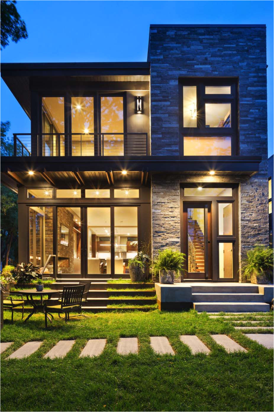 contemporary residence lake calhoun