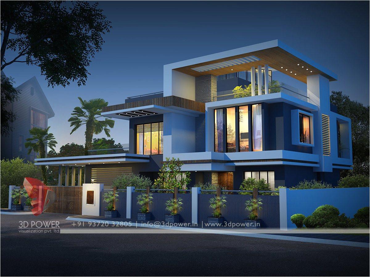 contemporary bungalow exterior designs