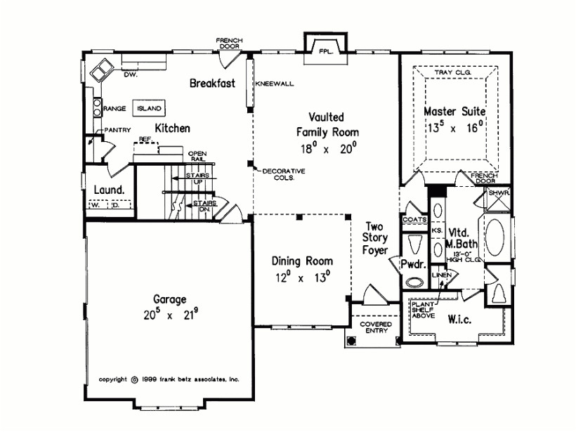eplans new american house plan modern family home 2044 square inside modern family house floor plan