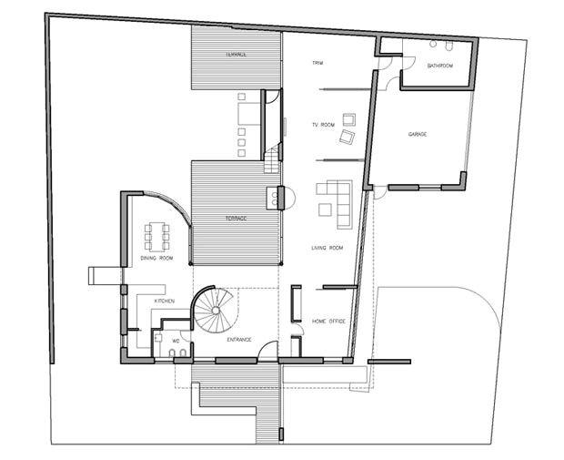 modern family house plans