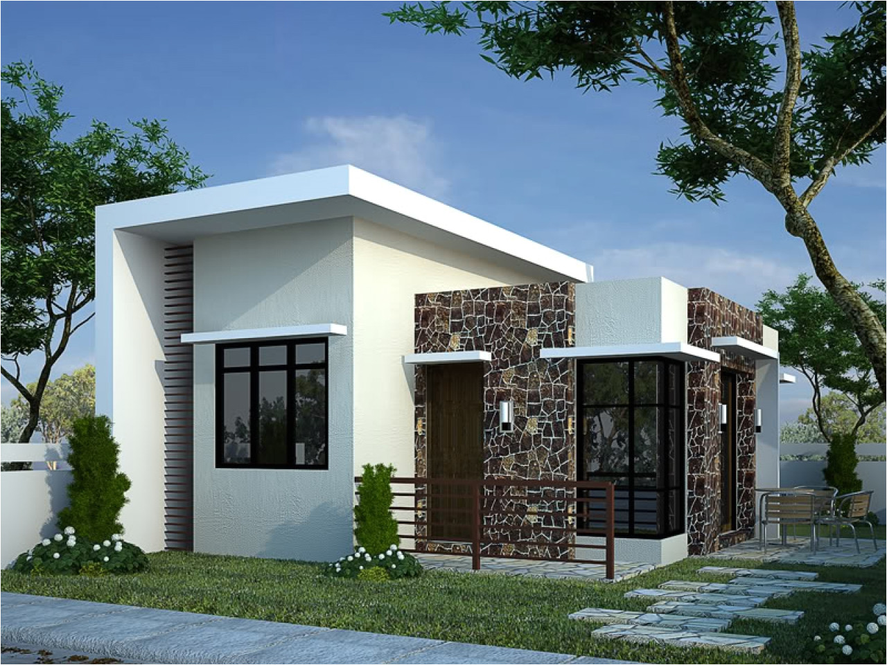 bungalow modern house plans ideas