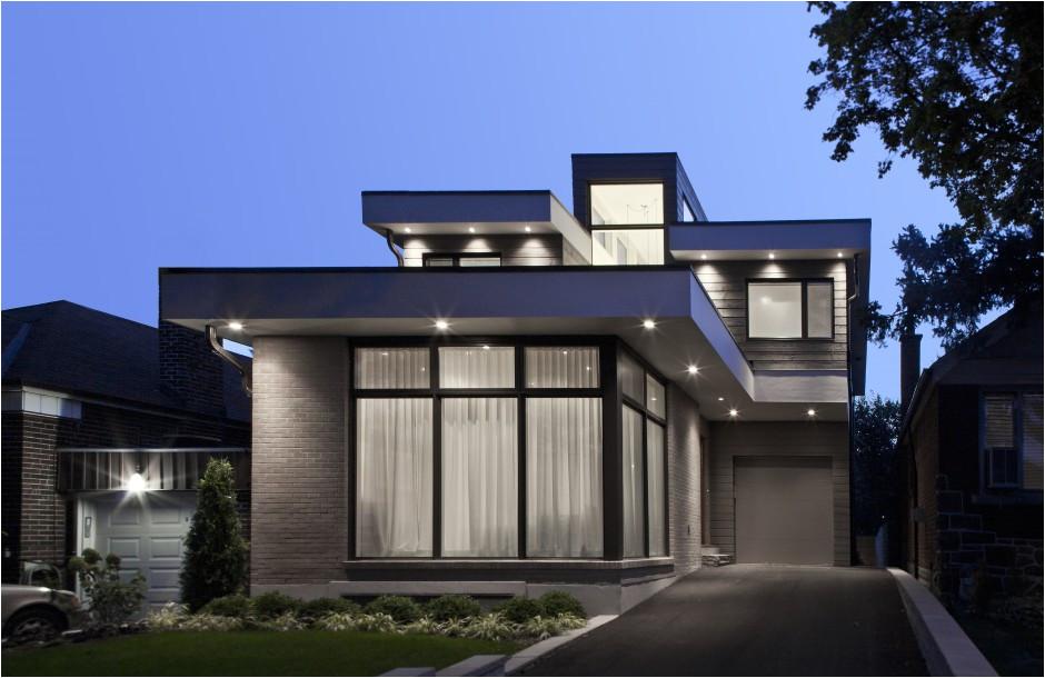 contemporary house designs canada