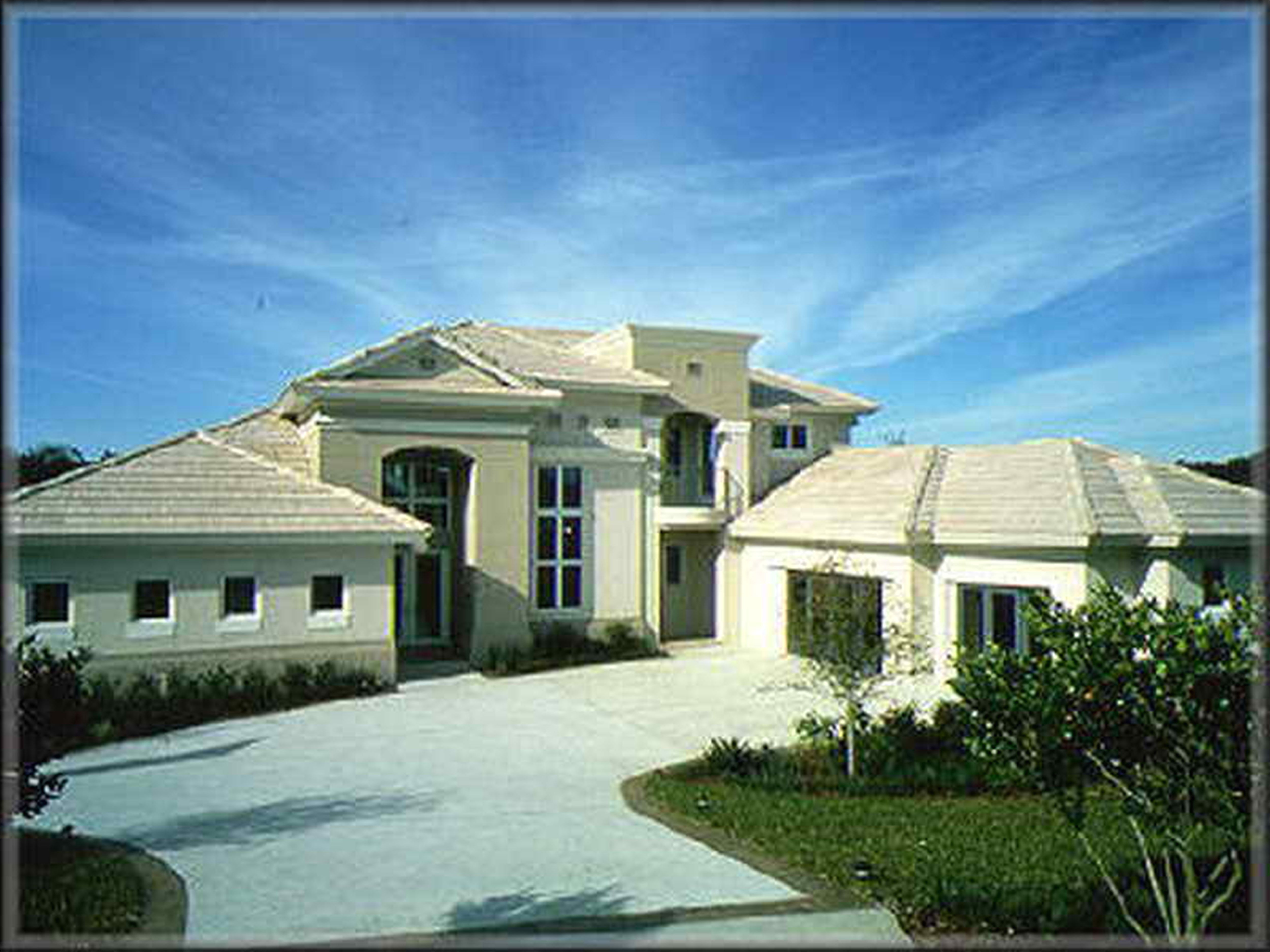 modern house plans luxury