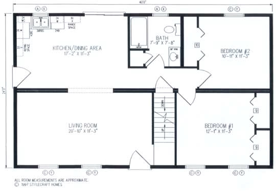 modular home plans 26x44 ranch