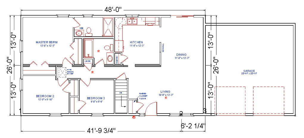 birchwood modular ranch house prices and plans