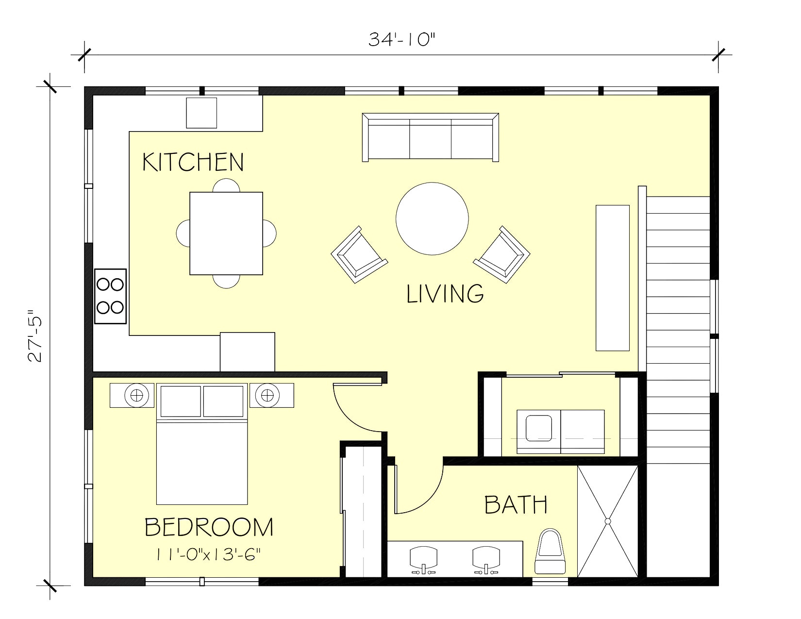 mother in law suite addition plans