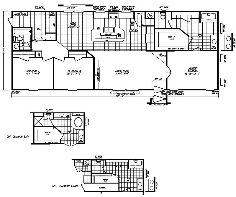 franklin manufactured homes floor plans