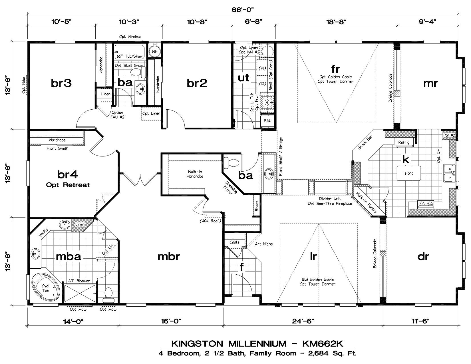 modern mobile home floor plans