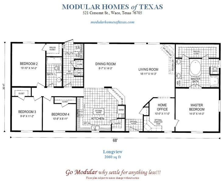 free modular home floor plans new one story house plans in texas house scheme