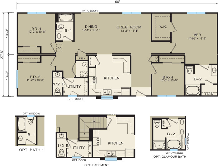 modular homes prices and floor plans