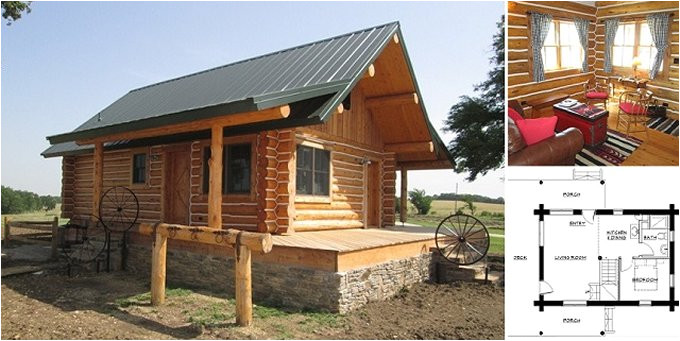 charming montana log cabin with floor plans