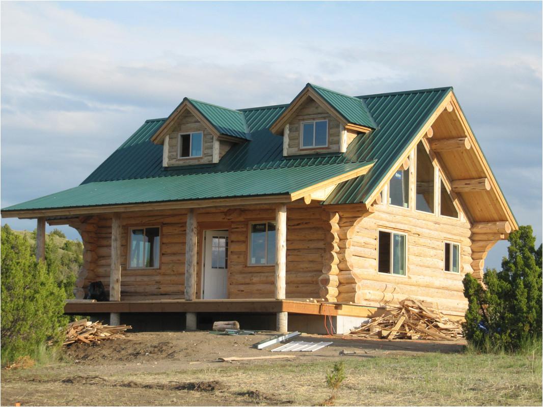 log home plans montana