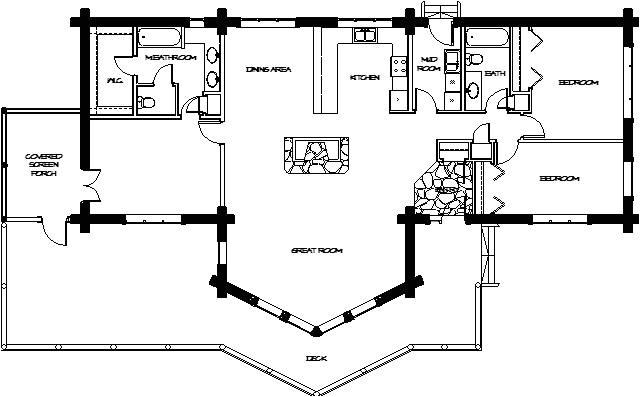 montana loghomes floorplan 024