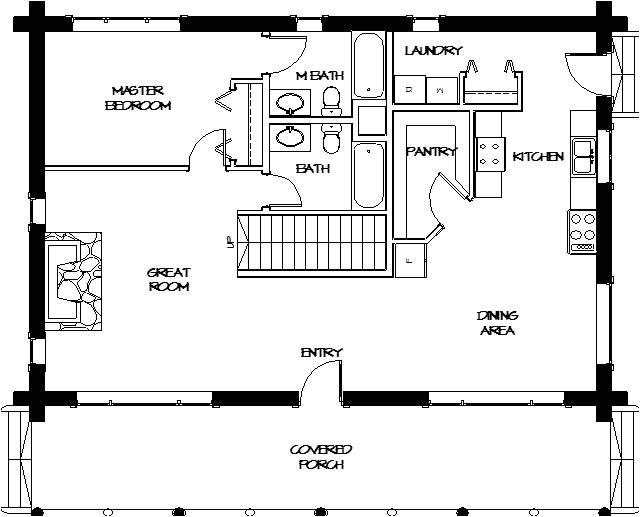 montana loghomes floorplan 028