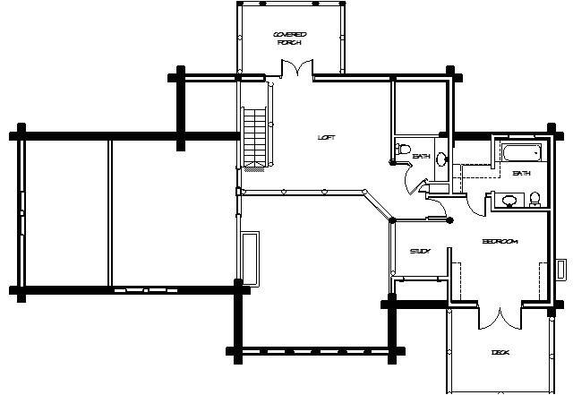 montana loghomes floorplan 037
