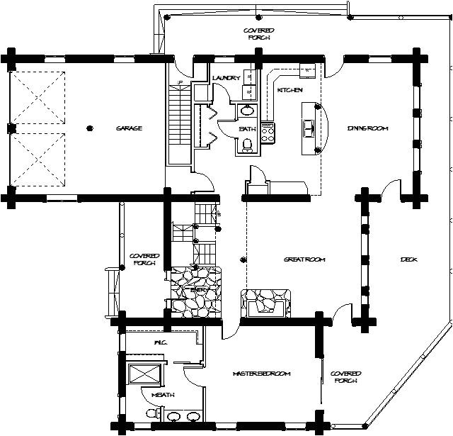 montana loghomes floorplan 045