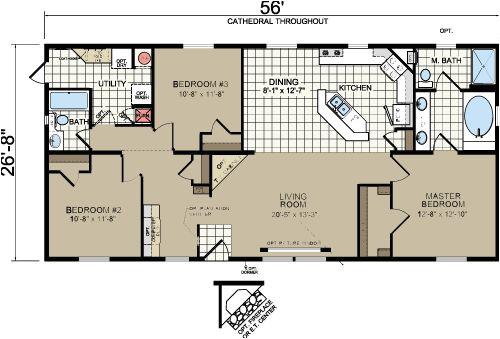 Morton Building Home Plans Morton Building Homes Floor Plans Redman A526