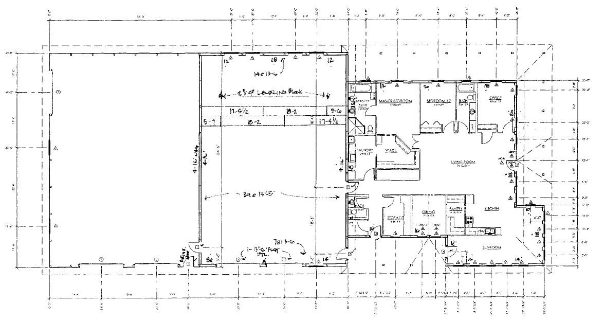 morton building home plans modern