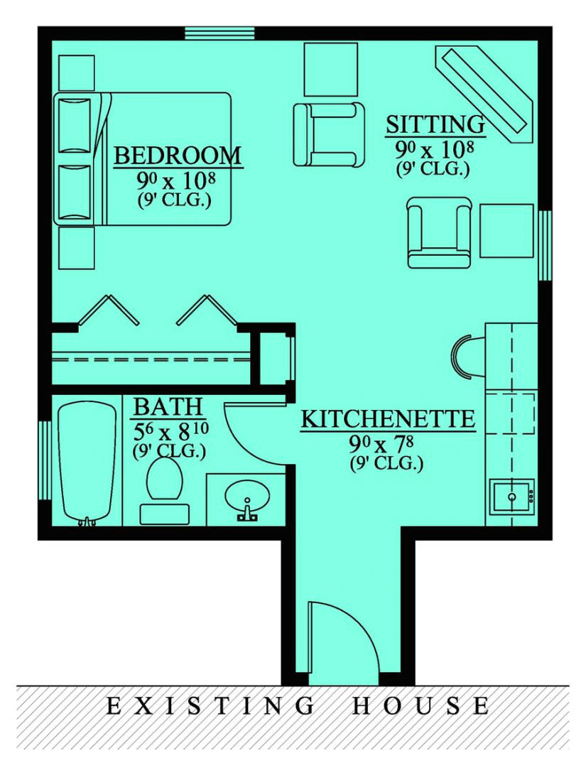 awesome in law house plans 2 mother in law suite addition floor plan