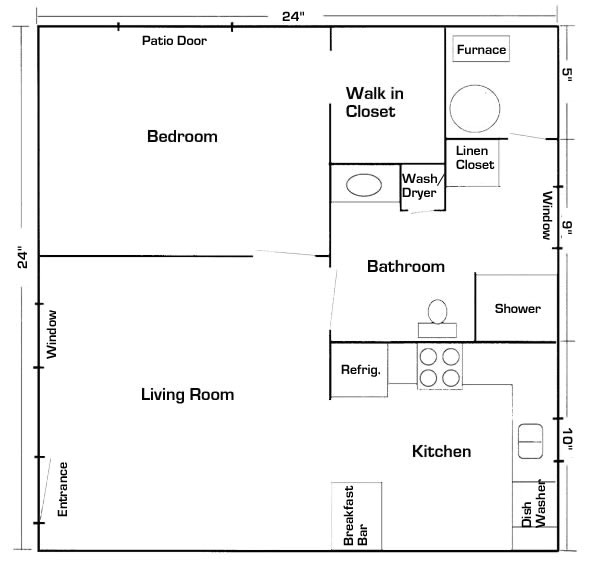 in law suite floor plans
