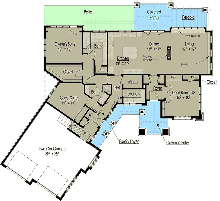 house plan 18268be