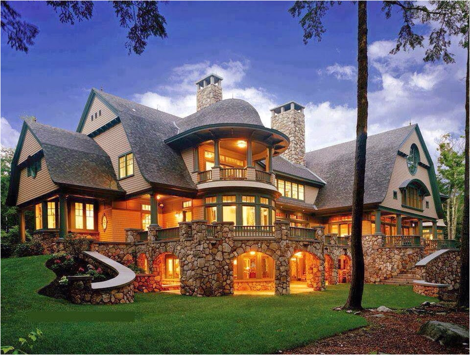 luxury mountain craftsman home plans