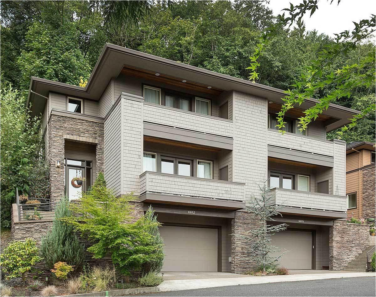 hillside multi family home plan 69111am