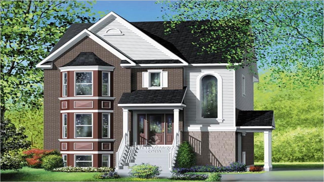 154031ad6dbd847a narrow multi family house plans multi family house plans designs