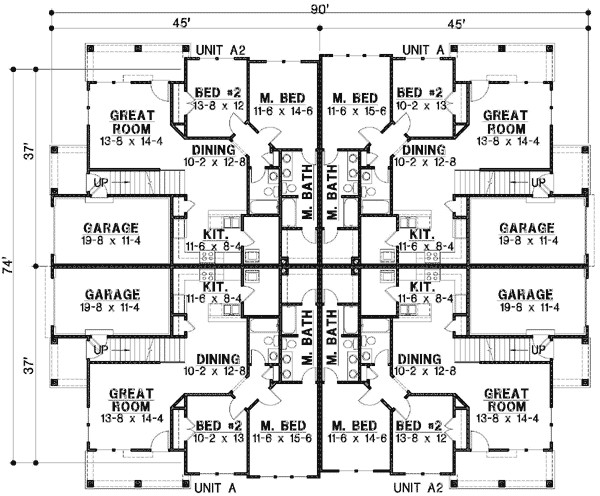 modular multi family house plans multi family house floor 6a69a1dbe6b43e46