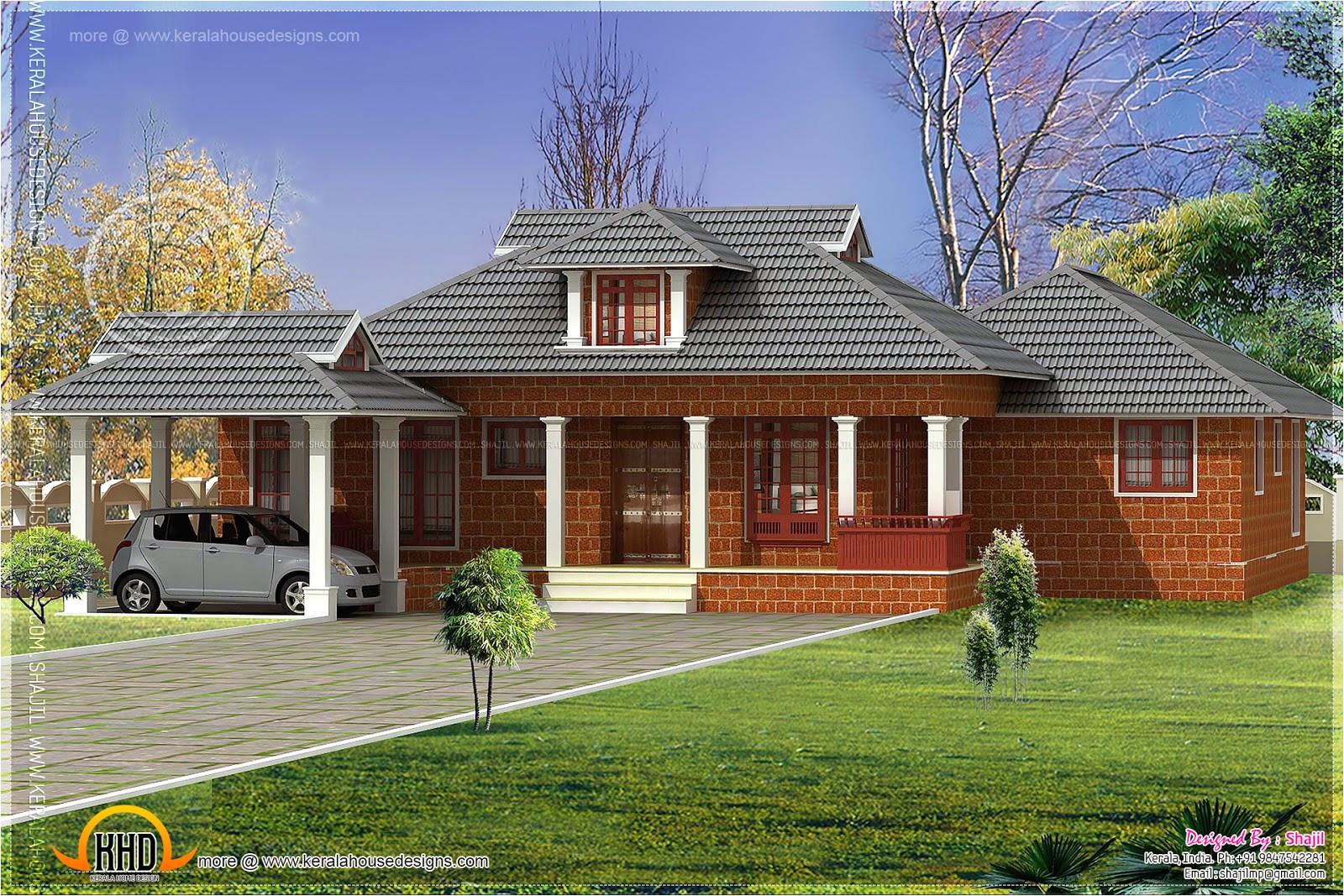 nalukettu laterite house design